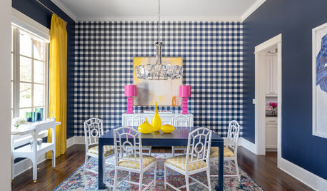 7 Dining Spaces Where Wallpaper Makes the Room