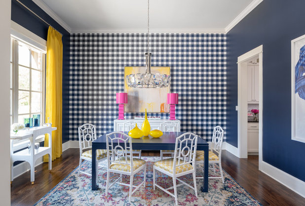 Fusion Dining Room by Traci Connell Interiors