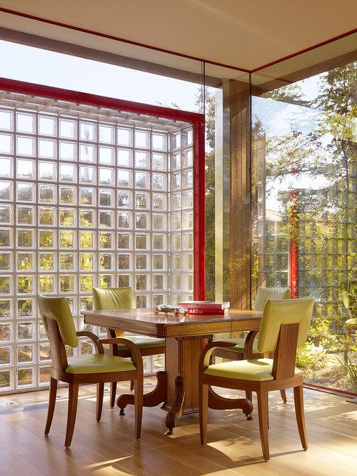 glass block wall houzz. Black Bedroom Furniture Sets. Home Design Ideas