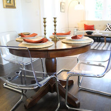Eclectic Dining Room by Madison Modern Home