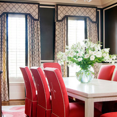 traditional dining room by Tobi Fairley Interior Design