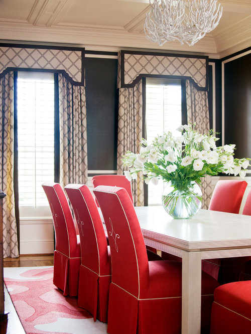 Beige And Black Curtains