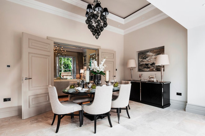 Contemporary Dining Room by Alexander James Interiors