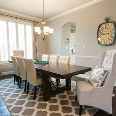 Traditional Dining Room by Casey Grace Design, LLC