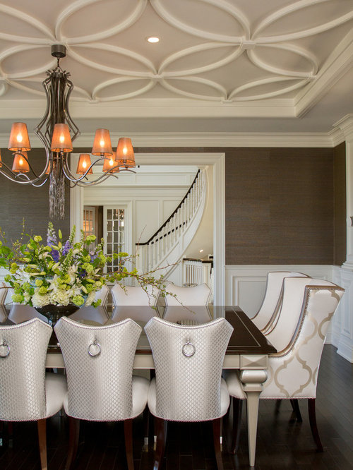 Formal dining room ceilings home design ideas pictures for Dining room ceiling designs