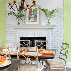 Beach Style Dining Room by Denise Fogarty Interiors