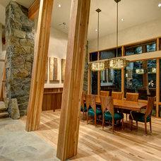 Contemporary Dining Room by Jon Eady Photographer