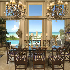 Traditional Dining Room by Clifford M. Scholz Architects Inc.