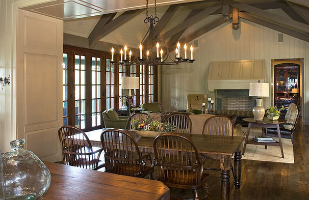 Traditional Dining Room by The Berry Group