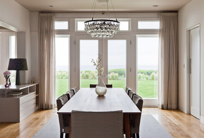 Contemporary Dining Room by Natasha Barrault Design