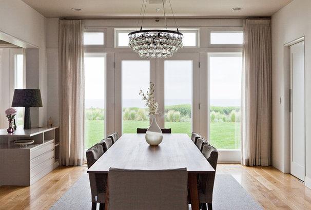 Contemporary Dining Room by Natasha Barrault Design