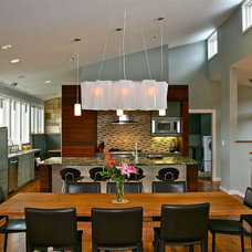 Contemporary Dining Room by Barley Pfeiffer Architecture