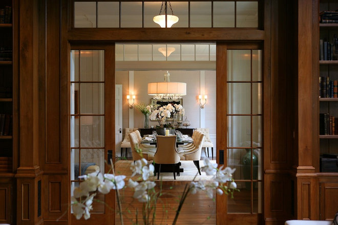Traditional Dining Room by Morrow and Morrow Corporation