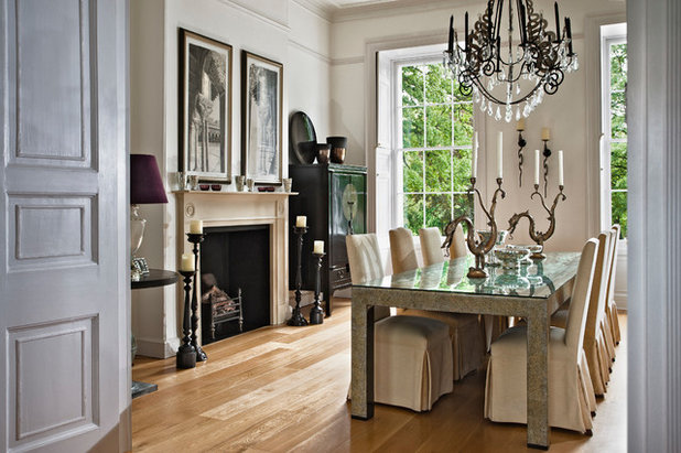 Traditional Dining Room by Interiors Etc