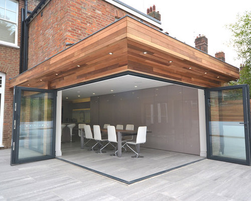 Modern extension houzz for Extension moderne