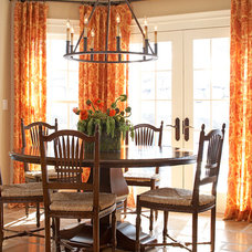 Traditional Dining Room by Michael Mariotti Interior Design