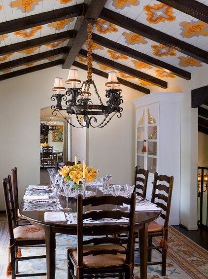 Transitional Dining Room by Lori Dennis, Inc.
