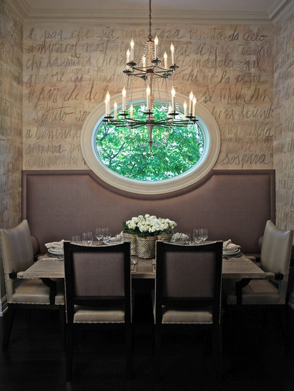 modern dining room by CMR Interiors & Design Consultations Inc.