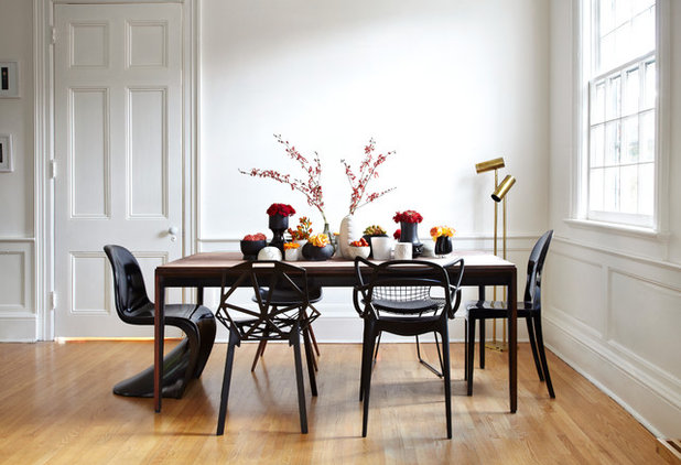 Eclectic Dining Room by stephane chamard