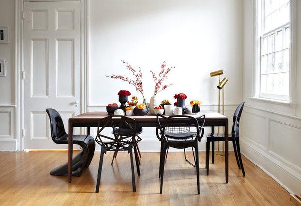 Esstisch stühle bunt  Bunte Stühle im Esszimmer: 19 tolle Beispiele