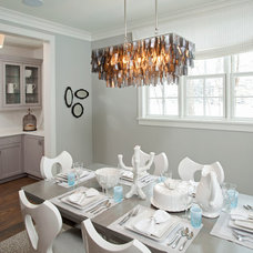 Beach Style Dining Room by REFINED LLC