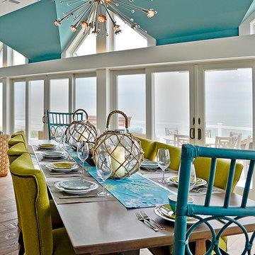 Coastal Contemporary Living Spaces