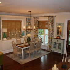 Eclectic Dining Room by Cowan Incorporated