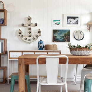 This Is An Example Of A Beach Style Dining Room In Sydney