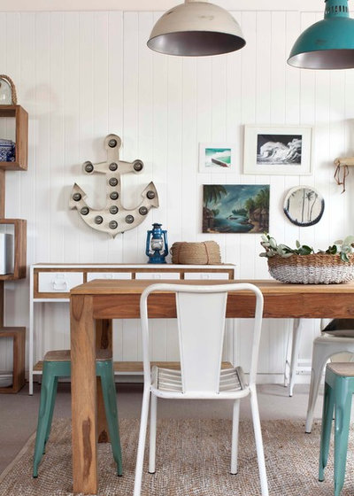 Beach Style Dining Room by Loft Furniture & Other Ideas