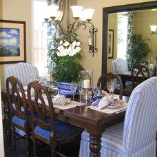 Traditional Dining Room by Coastal Decor, Nicole Rice