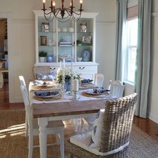 Beach Style Dining Room by Summerland Homes & Gardens