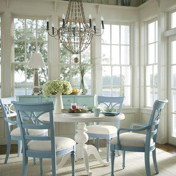 Coastal Living Cottage Dining Room