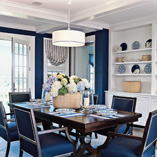 Beach Style Dining Room by Marcus Gleysteen Architects