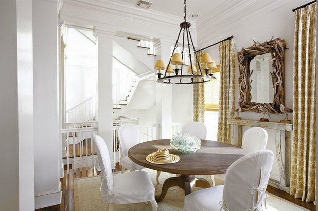 Beach Style Dining Room by Michael G Imber, Architects