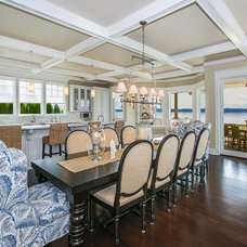 Traditional Dining Room by Tamara Rosenbloom Design LLC