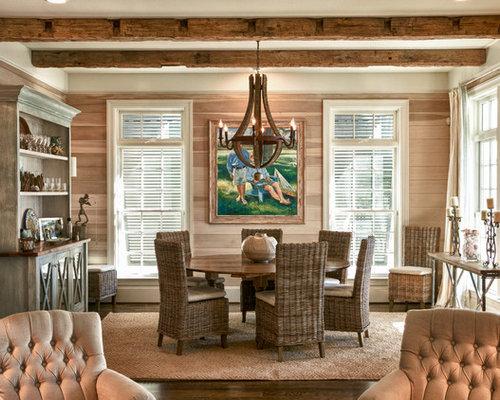 Coastal Dining Room | Houzz