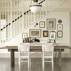 eclectic dining room by Random House