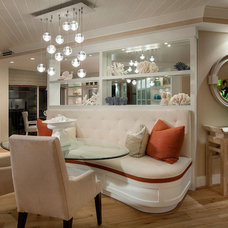 Contemporary Dining Room by W Design Interiors