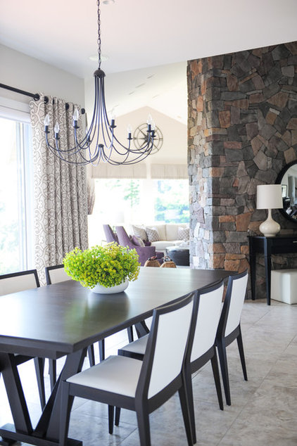 Traditional Dining Room by Simply Home Decorating