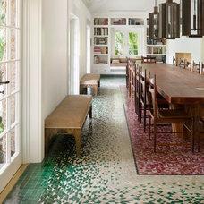 Tropical Dining Room by Hagan Binder Design