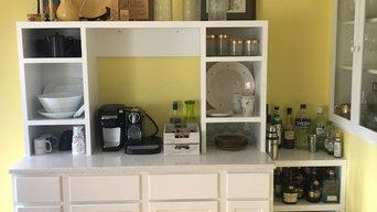 Coffee Bar and Storage