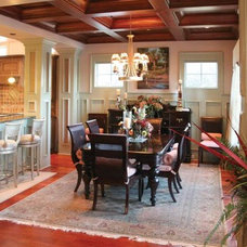 Contemporary Dining Room by Sea Island Builders LLC