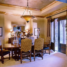 Traditional Dining Room by Coffey & Co. House of Interiors