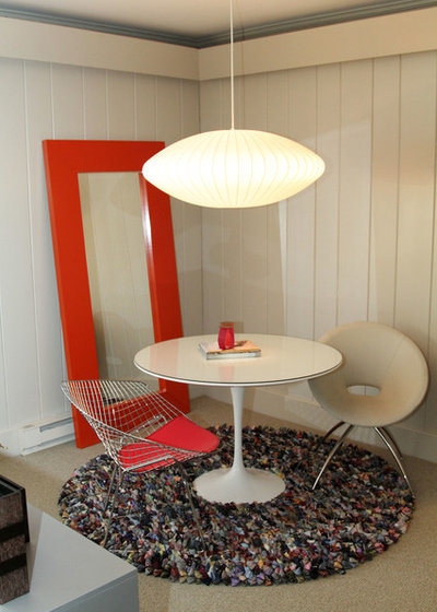My Houzz Mod Chic For A Midcentury Riverfront Home