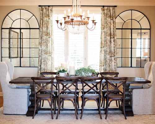 Enclosed dining room design ideas renovations photos for Medium dining room ideas