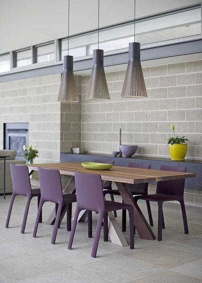 Contemporain Salle à Manger by Watershed Design
