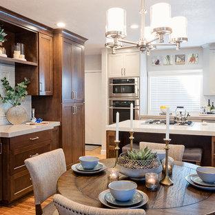75 Most Popular Sacramento Dining Room With Gray Walls Design Ideas