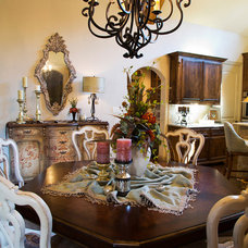 Traditional Dining Room by The Interior Collection