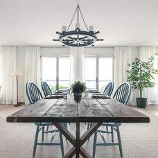 Beach Style Dining Room by DesignSense Interiors