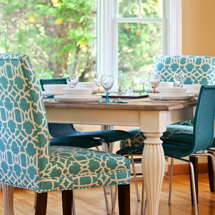 Color-infused update of seaside cottage